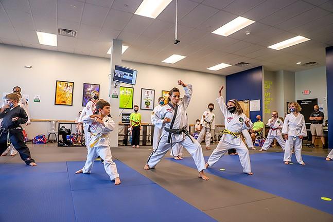 Alicia Tavani of No Limits Martial Arts - CP PHOTO: KAYCEE ORWIG