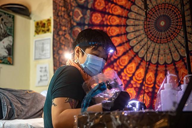 Yang Zhen Lee - CP PHOTO: KAYCEE ORWIG