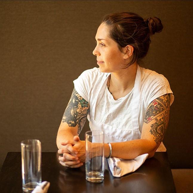40 North Executive Chef Beth Zozula - PHOTO: COURTESY OF SAM SUTER