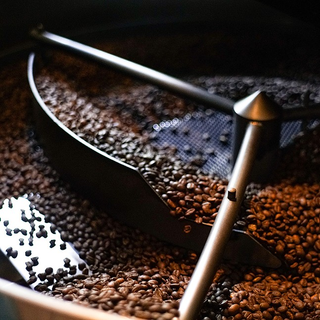 Commonplace Coffee's machinery - PHOTO: COURTESY OF COMMONPLACE COFFEE
