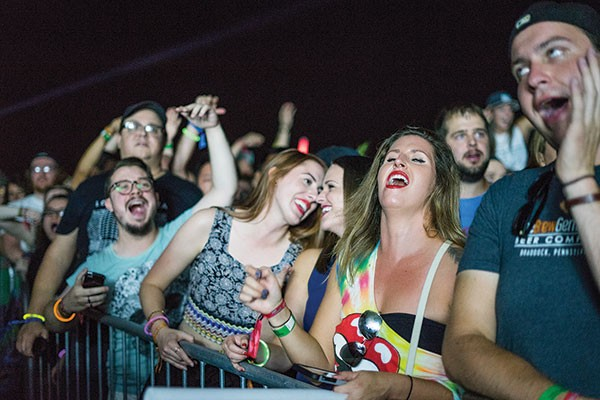 Big crowds at Thrival Festival meant long lines. - CP PHOTO BY BRIAN CONWAY