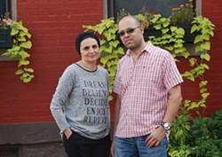 Danya Musallam and Mohammed Musallam - PHOTO COURTESY OF THE MATTRESS FACTORY
