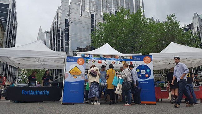 Go Green in Market Square - PHOTO: PITTSBURGH EARTH DAY