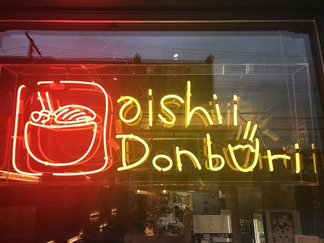 Oishii Donburi in Lawrenceville - CP PHOTO: RYAN DETO