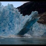 "An Alaskan glacier crumbles in ""Extreme Weather"""