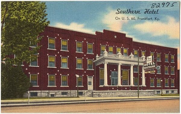 A postcard from The Southern Hotel - PHOTO COURTESY OF EMERAN IRBY