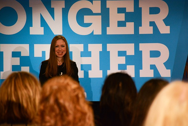 Chelsea Clinton - CP PHOTO BY STEPHEN CARUSO