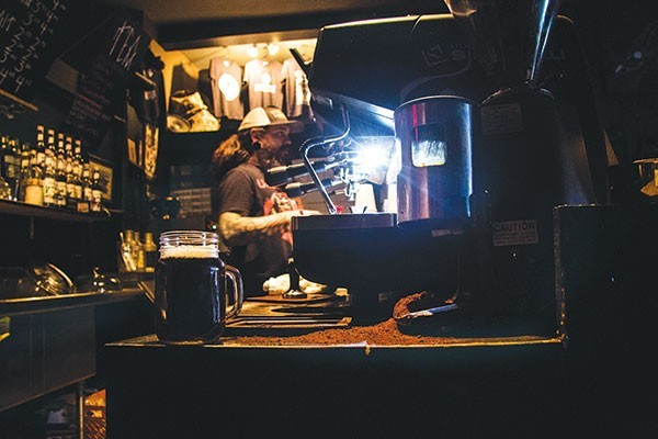 Black Forge Coffee House - CP PHOTO BY LUKE THOR TRAVIS
