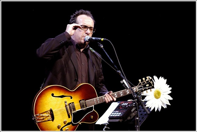 Elvis Costello - BY VICTOR DIAZ LAMICH VIA WIKIMEDIA COMMONS