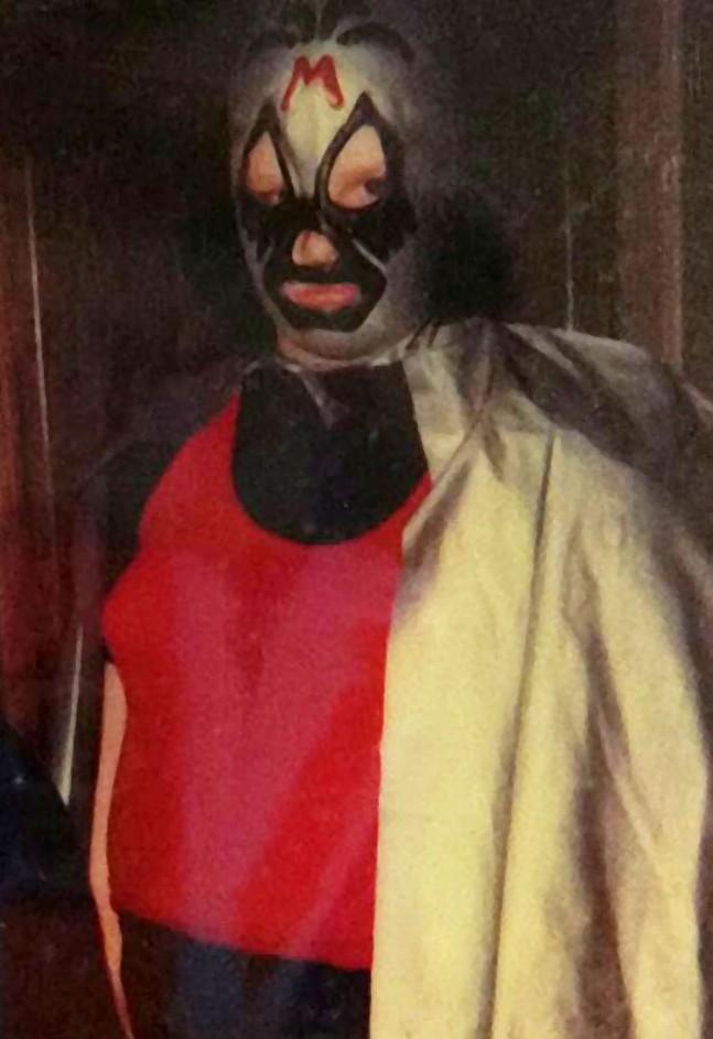 Professional Wrestler Mil Máscaras a.k.a. Editor Charlie Deitch