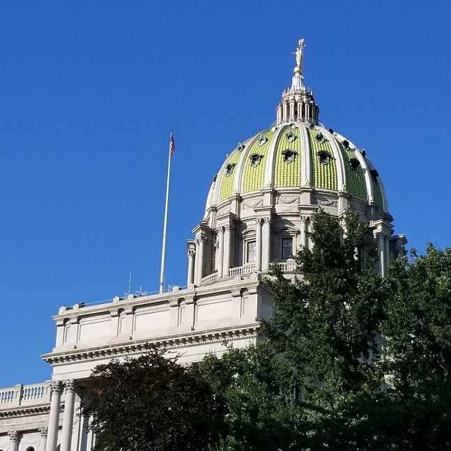 Pennsylvania State Capitol Building - CAPITAL-STAR PHOTO BY CASSIE MILLER