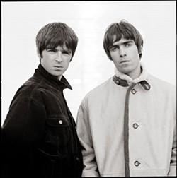 Noel and Liam Gallagher - COPYRIGHT JILL FURMANOVKSY