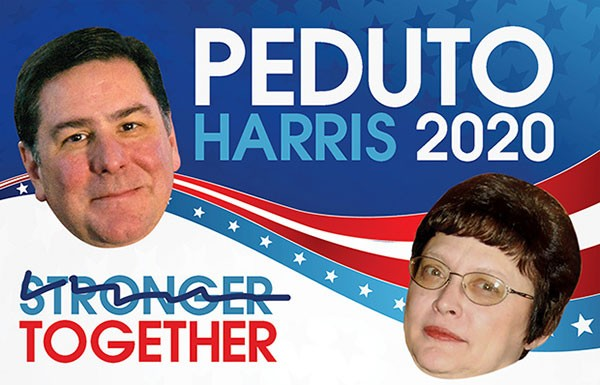 Bill Peduto and Darlene Harris
