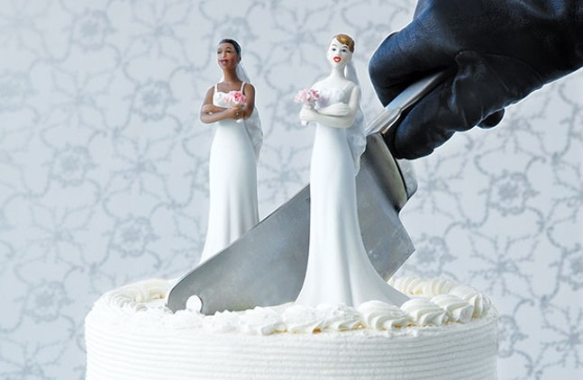 In 2012, we reported on LGBT couples getting married in New York, only to have the union unrecognized in Pennsylvania.