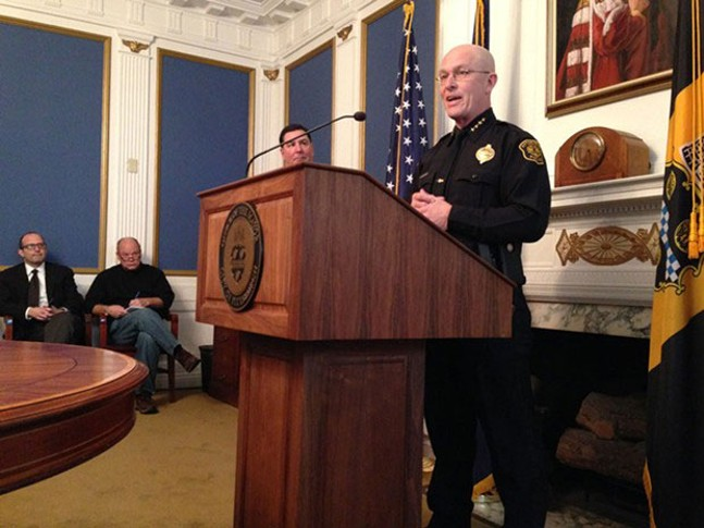 A story on Pittsburgh Police Chief Cameron McLay resigning on our online Blogh - CP FILE PHOTO