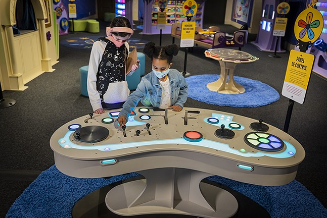 Emotions at Play with Pixar's Inside at Children's Museum of Pittsburgh - COURTESY OF CHILDREN'S MUSEUM OF PITTSBURGH