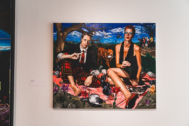 Rising Voices: The Bennett Prize for Women Figurative Realist Painters at 937 Liberty Avenue Gallery - PHOTO: SETH CULP-RESSLER