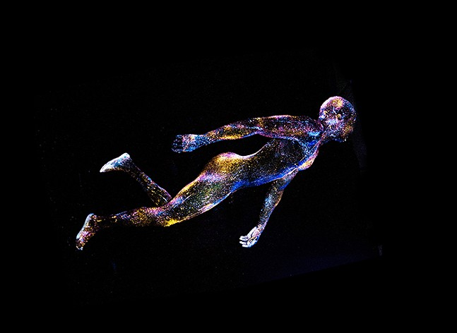 Infinite Essence: Celestial Liberation by Mikael Owunna - PHOTO: COURTESY OF PITTSBURGH GLASS CENTER