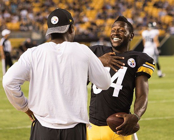 The athlete formerly known as Antonio Brown - CP PHOTO BY LUKE THOR TRAVIS