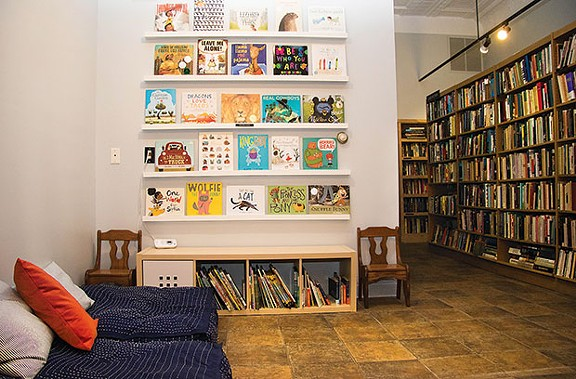 White Whale Bookstore's new childrens' book section - CP PHOTO BY LUKE THOR TRAVIS