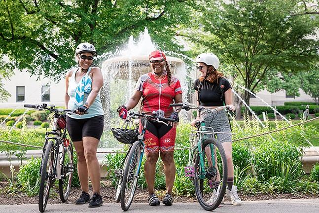 Women & Non-binary bike summit — see Sat., June 26 - PHOTO: BIKEPGH