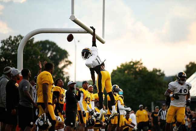 Steelers training camp in Latrobe in 2018 - CP PHOTO: JARED WICKERHAM