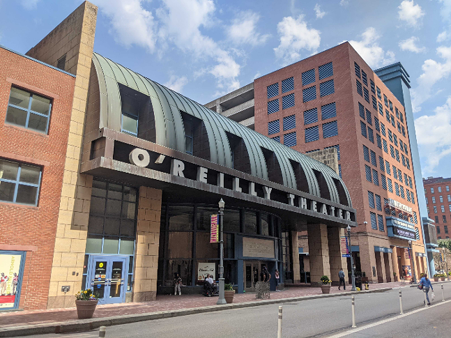 The O'Reilly Theater in Downtown Pittsburgh - CP PHOTO: LISA CUNNINGHAM