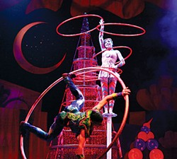 PHOTO COURTESY OF CIRQUE PRODUCTIONS