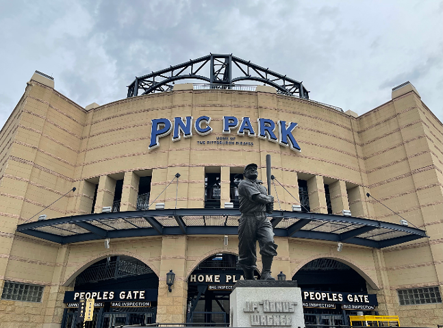 PNC Park, home to the Pittsburgh Pirates - CP PHOTO: JARED WICKERHAM