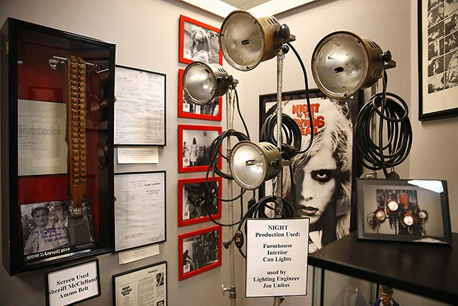 The Living Dead Museum inside the Monroeville Mall - CP PHOTO: JARED WICKERHAM