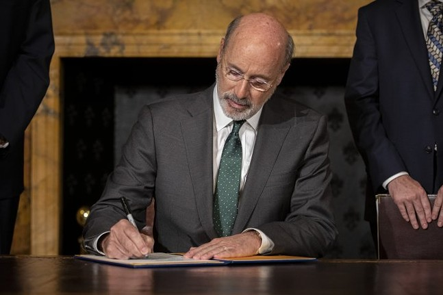 Governor Wolf Takes Executive Action to Combat Climate Change, Carbon Emissions - PHOTO: COURTESY OF OFFICE OF GOVERNOR