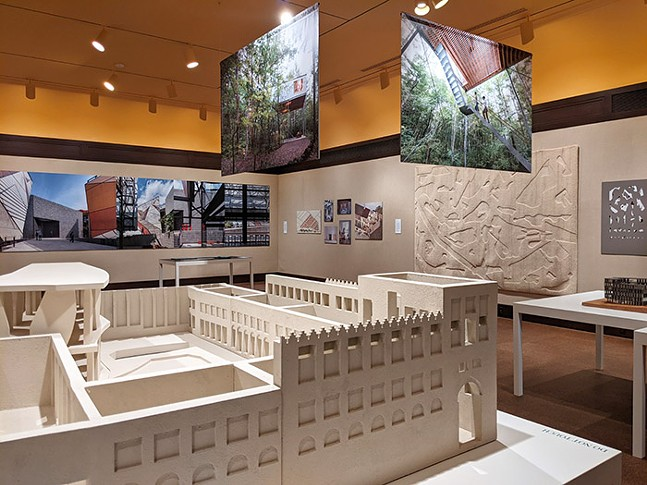 Fabricated Landscape at CMOA - CP PHOTO: AMANDA WALTZ