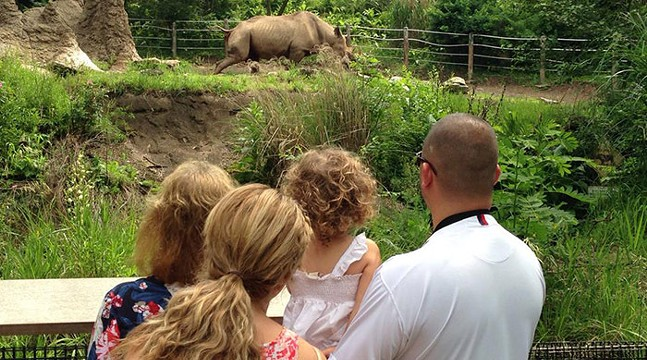 Family at the Pittsburgh Zoo - CP PHOTO: LISA CUNNINGHAM