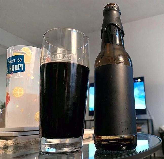 Voodoo Brewery's αphotic - CP PHOTO: OWEN GABBEY