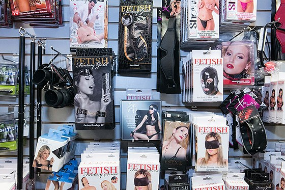 A selection of merchandise for sale at Sassy Sensations - CP PHOTO BY JOHN COLOMBO