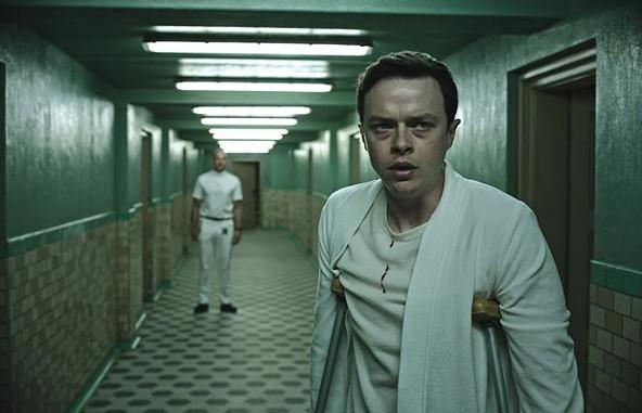 Lockhart (Dane DeHaan) is spooked.