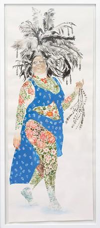 ART BY FIRELEI BÁEZ. COLLECTION OF JOHN P. MORRISSEY. IMAGE COURTESY OF PEREZ ART MUSEUM MIAMI