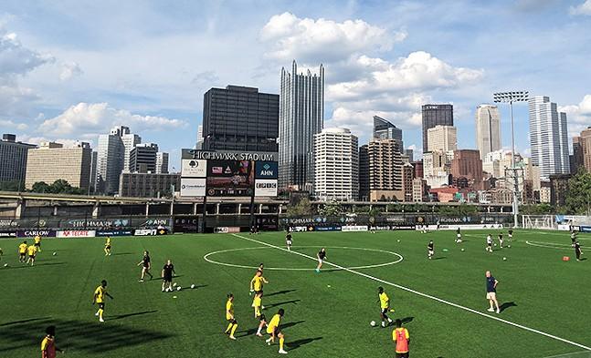 Pittsburgh Riverhounds at Highmark Stadium - CP PHOTO: LISA CUNNINGHAM