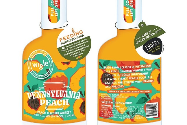 Wigle Whiskey and Tröegs Independent Brewing Pennsylvania Peach Whiskey-WIGLE WHISKEY Images