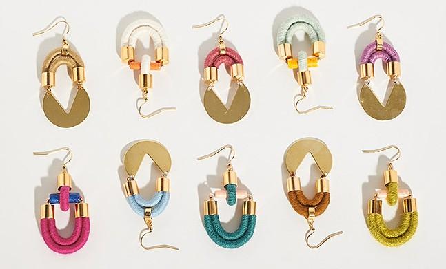 SASHA Handmade earrings - PHOTO: COURTESY OF SARA MCCLELLAND