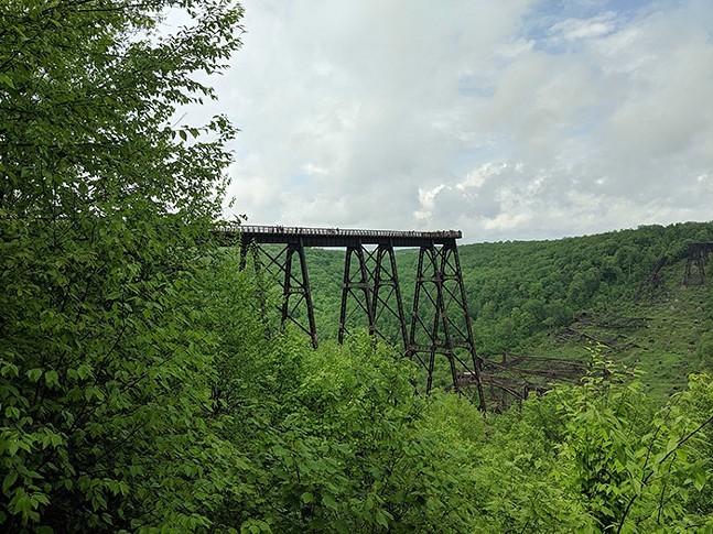 Kinzua Bridge State Park - CP PHOTO: LISA CUNNINGHAM