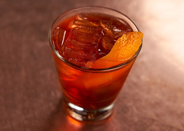 Negroni from City Works Eatery