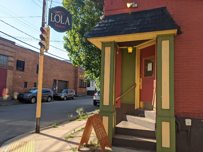 Lola Bistro in Pittsburgh's North Side - CP PHOTO: LISA CUNNINGHAM