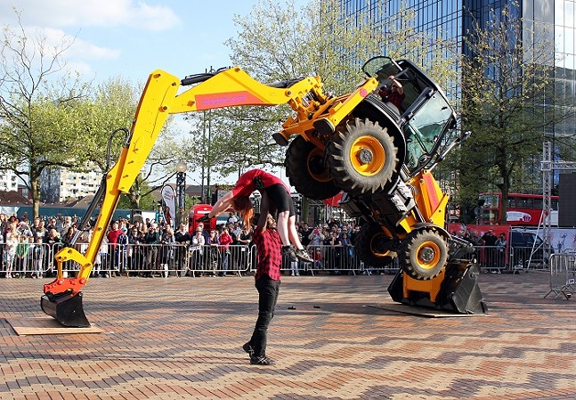 Torque by Motionhouse - PHOTO: COURTESY OF MOTIONHOUSE