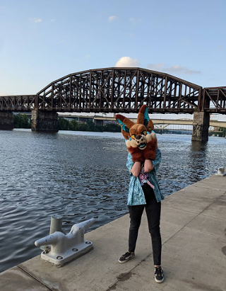 Phoebe Brown near the David L. Lawrence Convention Center in Downtown - PHOTO: COURTESY OF PHOEBE BROWN