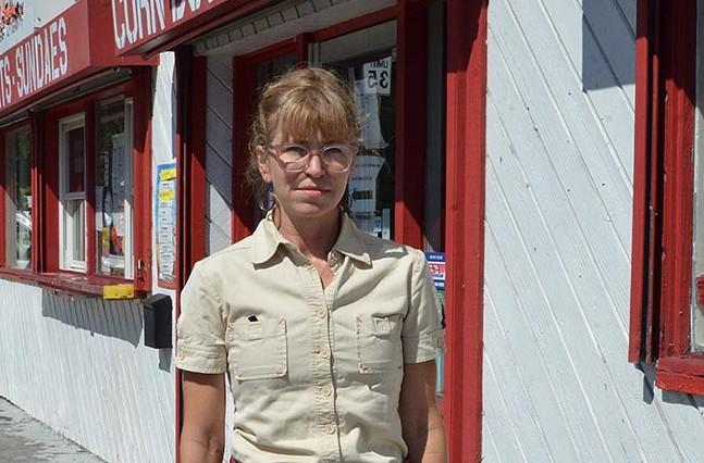 Pittsburgh artist and designer Leah Patgorski - CP PHOTO: TERENEH IDIA