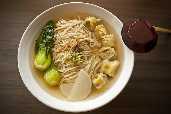 Shrimp Pork Wonton Noodle Soup from Everyday Noodles - CP FILE PHOTO: HEATHER MULL