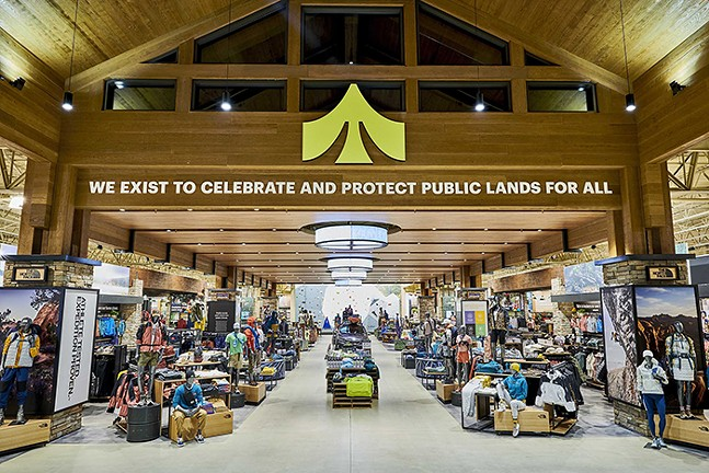Public Lands store - PHOTO: COURTESY OF DICK'S SPORTING GOODS/PUBLIC LANDS