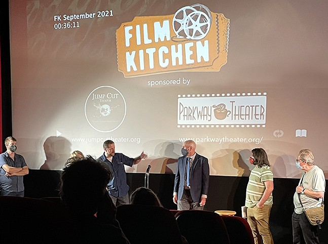 Film Kitchen at Parkway Theater - COURTESY OF JUMP CUT THEATER