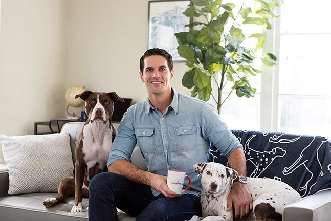 Jordan Karcher of Grounds & Hounds Coffee Co. - COURTESY OF GROUNDS & HOUNDS COFFEE CO.